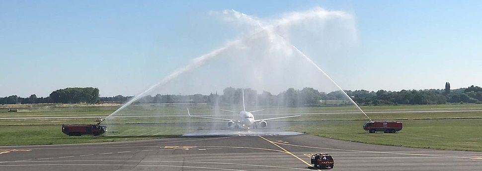 Vol Inaugural Montpellier Oujda Aeroport Montpellier Mediterranee
